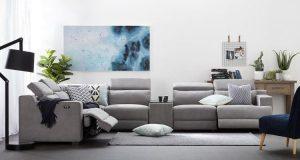 Sofa Lounge Style, Fabric and Comfortness