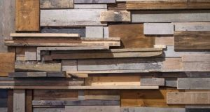 Reclaimed Wood Curbside Frame